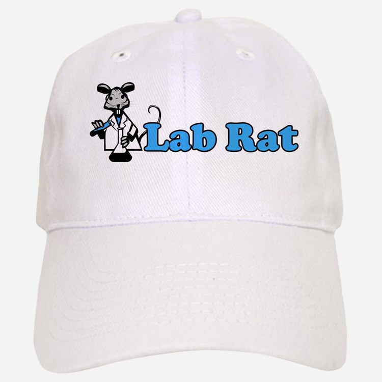 Lab Rat Baseball Baseball Cap