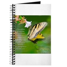 Butterfly Journal with Bible verse