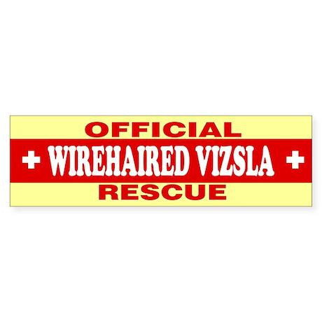 WIREHAIRED VIZSLA Bumper Sticker