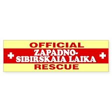 ZAPADNO-SIBIRSKAIA LAIKA Bumper Bumper Sticker
