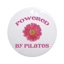 Powered by Pilates Ornament (Round)