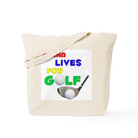 Kenna Lives for Golf - Tote Bag