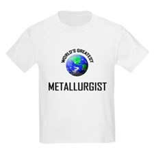 World's Greatest METALLURGICAL ENGINEER T-Shirt