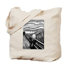 Munch's Scream Lithograph Tote Bag