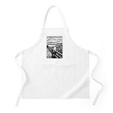 Munch's Scream Lithograph BBQ Apron