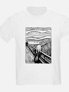 Munch's Scream Lithograph T-Shirt