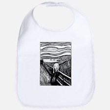 Munch's Scream Lithograph Bib