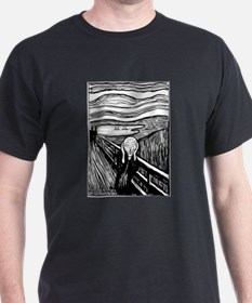 Munch's Scream Lithograph T-Shirt