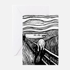 Munch's Scream Lithograph Greeting Cards (Pk of 20