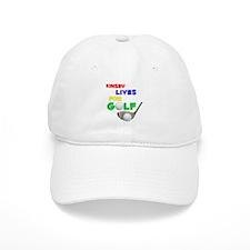 Kinsey Lives for Golf - Baseball Cap