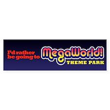MegaWorld Bumper Bumper Sticker