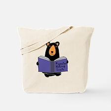Cute Funny hiking Tote Bag