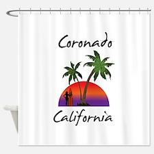 Coronado California Shower Curtain