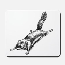 Flying Squirrel Illustration  Mousepad