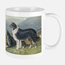 Antique Sheepdogs  Mug