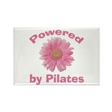Powered by Pilates Rectangle Magnet (10 pack)
