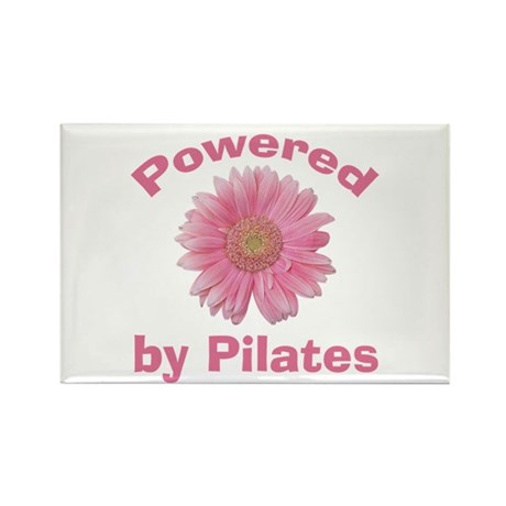 Powered by Pilates Rectangle Magnet (100 pack)
