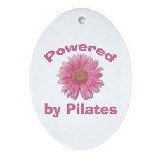 Powered by Pilates Oval Ornament