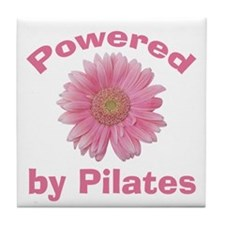 Powered by Pilates Tile Coaster