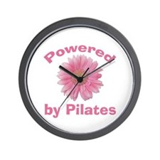 Powered by Pilates Wall Clock