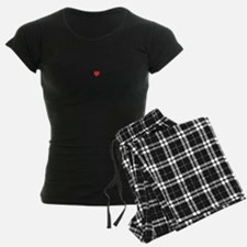 I Love TONSILLITISES Pajamas
