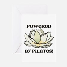 Powered by Pilates Lotus Greeting Cards (Pk of 20)