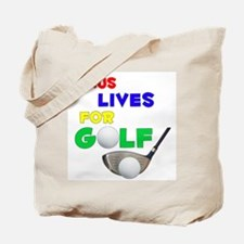 Lexus Lives for Golf - Tote Bag
