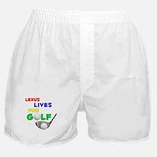 Lexus Lives for Golf - Boxer Shorts