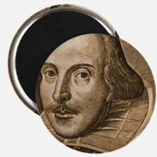 Droeshout's Shakespeare Magnet