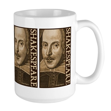 Droeshout's Shakespeare Large Mug
