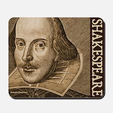 Droeshout's Shakespeare Mousepad