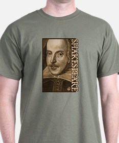 Droeshout's Shakespeare T-Shirt
