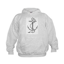 Nautical Anchor Sailor / Pirate Hoodie