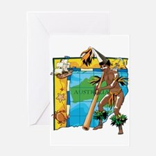 Didgeridoo Greeting Card