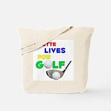 Lizette Lives for Golf - Tote Bag