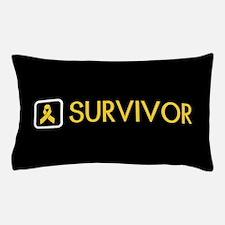 Childhood Cancer Survivor Pillow Case