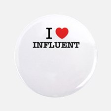 """I Love INFLUENT 3.5"""" Button (100 pack)"""