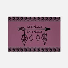 Bohemian Arrow Personal Rectangle Magnet (10 pack)