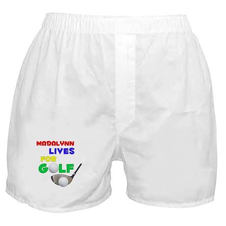Madalynn Lives for Golf - Boxer Shorts