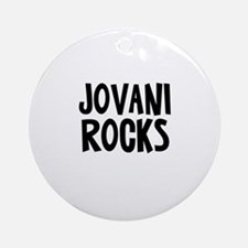 Jovani Rocks Ornament (Round)