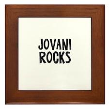 Jovani Rocks Framed Tile