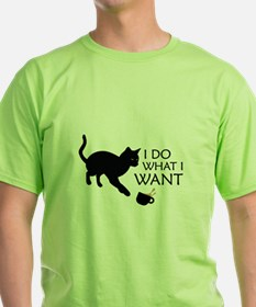 Do What I Want Cat T-Shirt