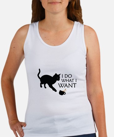 Do What I Want Cat Tank Top