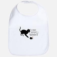 Do What I Want Cat Bib