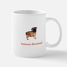 Unique Brussels griffon puppy Mug