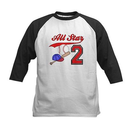 AllStar Baseball 2nd Birthday Kids Baseball Jersey