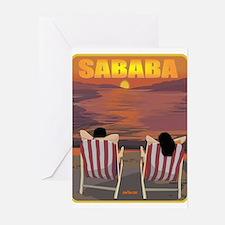 Sababa 16x20 Greeting Cards