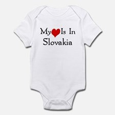 My Heart Is In Slovakia Infant Bodysuit
