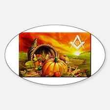 Masons Thanksgiving Decal