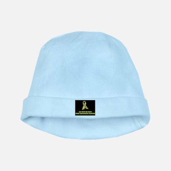 September Ribbon baby hat